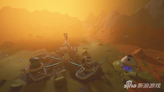 在陌生的星球收集资源建造基地