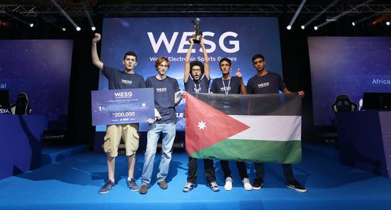 约旦的《CS:GO》业余战队Aboshamalah成为本次比赛的黑马