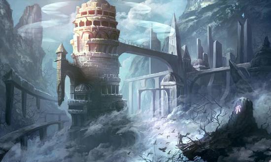 天同作品《雪后的卡拉赞》