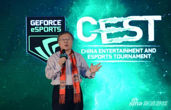 中国互联网上网服务行业协会会长 张新建先生