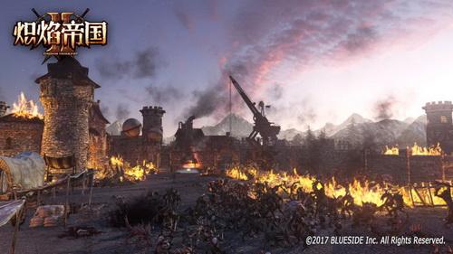 一群安卡族正在破坏城镇