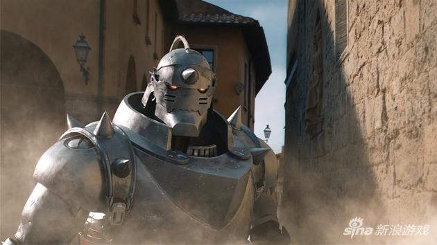 《钢之炼金术师》真人版电影阿尔冯斯CG全貌公布(点击查看大图)