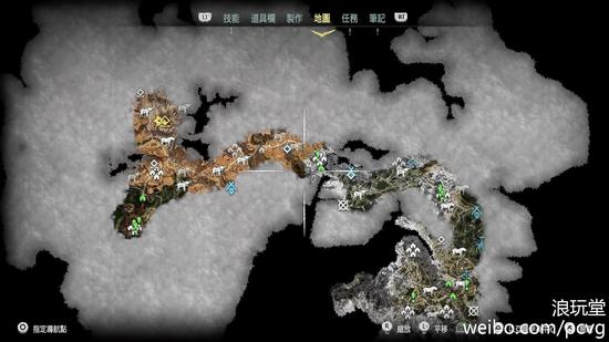 地图上的内容足够丰富