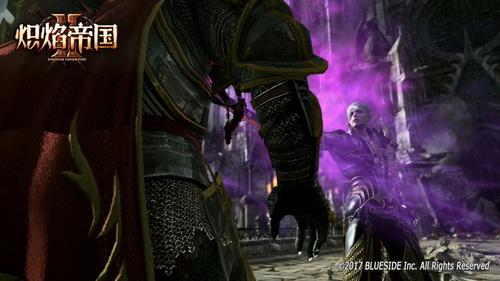 塞雷斯向阿兹尔拉国王发起正面攻击