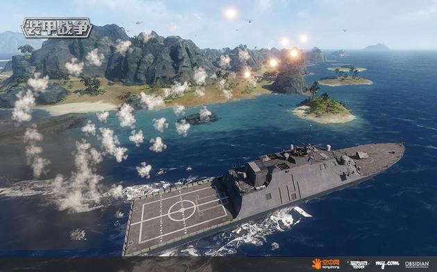 岛屿争霸海陆空三军出动