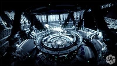 国建cthuwork团队搭建的大型工程《紫禁城》为《我的世界》中式建筑图片