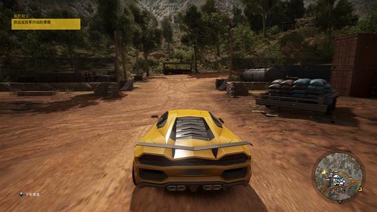 游戏中的车辆很多