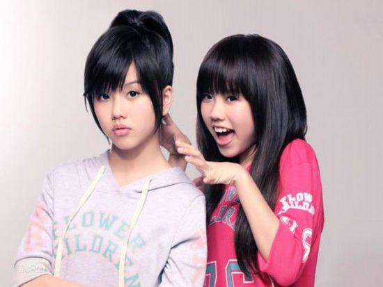 童年时期的BY2,姐姐Miko,妹妹Yumi
