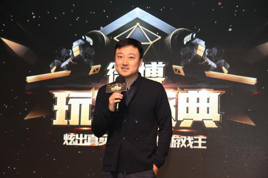 新浪网游戏总经理杨振致辞