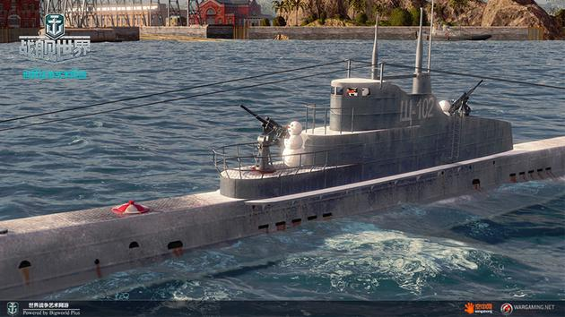 """""""梭鱼""""级潜艇雪人舰长正在待命!"""