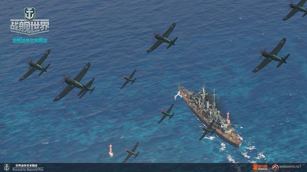 铺天盖地的飞机重现太平洋航空战