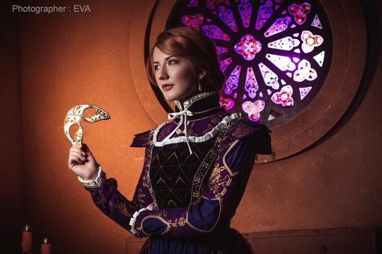 niamash cos的《巫师3》DLC中的女公爵Anna Henrietta
