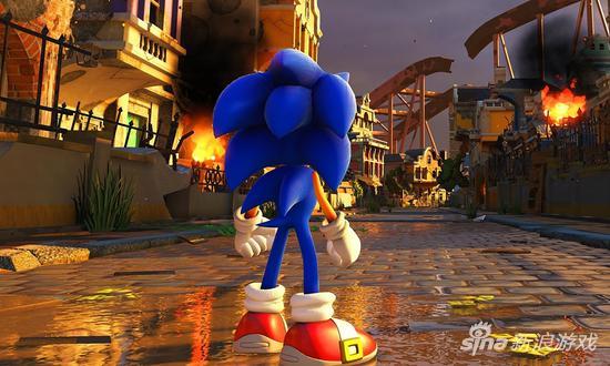 《索尼克:力量》将于今年冬天登陆PS4平台