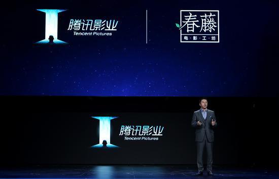 从右至左:程武、陈国富(工夫影业创始人、监制、导演)、陶昆(工夫影业总经理、制片人)