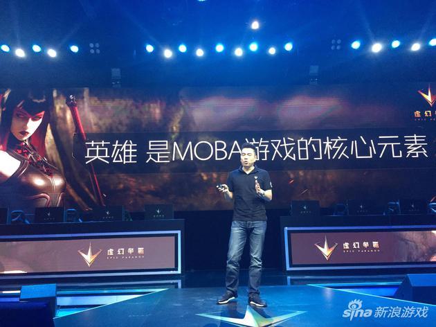 腾讯互动娱乐市场总监廖侃