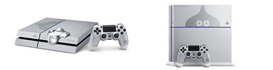 """""""金属史莱姆""""纪念版PS4"""
