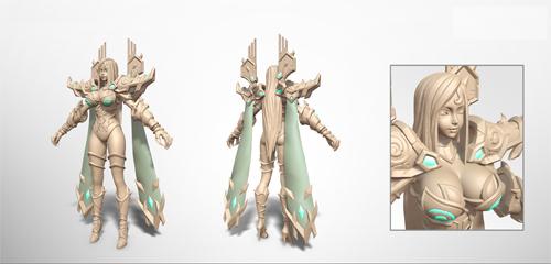 白骨模型设计稿