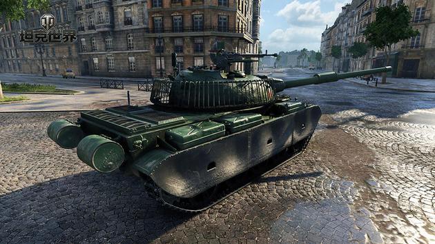 攻防兼备的WZ132-1