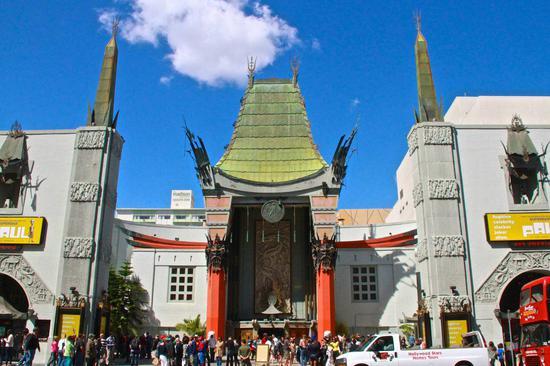 现实中的好莱坞TCL中国剧院