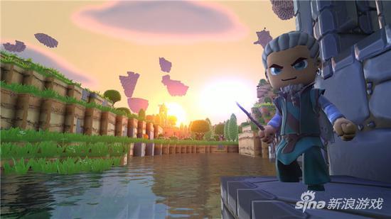 萌化版《我的世界》 《传送门骑士》今日正式发售 优优国际娱乐