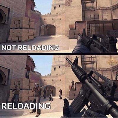 FPS游戏,按R召唤一个敌人