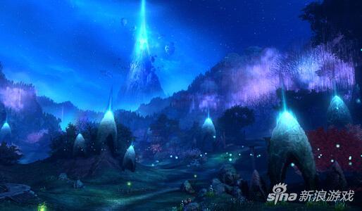 魔族新手地区改变后(可看到永恒之塔)
