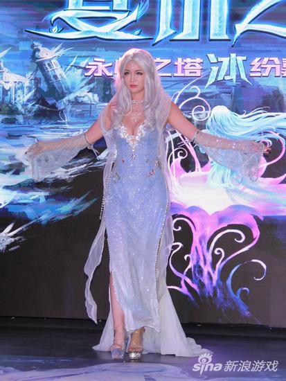 永恒之塔第三龙帝艾莱休奇卡cosplay
