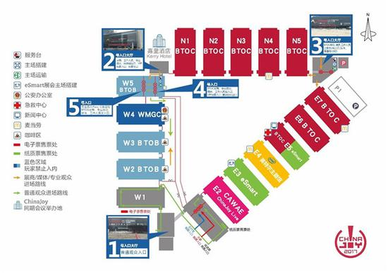 2017ChinaJoyBTOB/WMGC展商名�握�式公布!