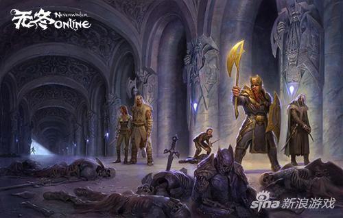 《无冬OL》PS4 圣骑士今日降临 冰风