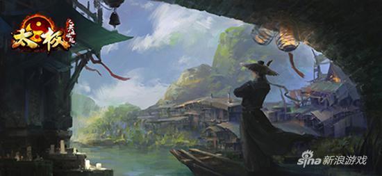 高品质武侠 37《太极之英雄崛起》精美原画曝光
