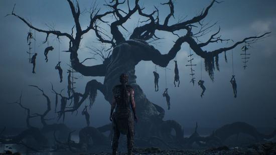 随着游戏进入尾声,游戏整体氛围变得更加压抑黑暗