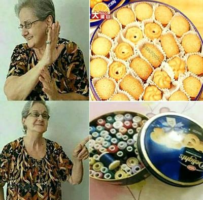 外国奶奶也这样干?我还以为是我国特色……