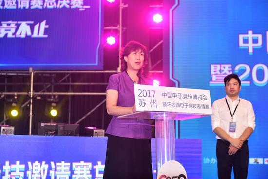 2017中国(苏州)电子竞技博览会金鸡湖畔火热开幕 漫展 第4张