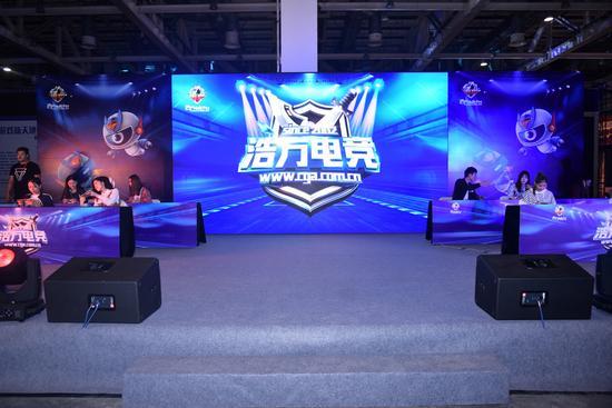 2017中国(苏州)电子竞技展览会金鸡湖畔火热揭幕