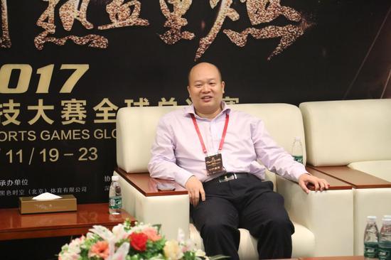 国家体育总局体育信息中心电子竞技项目部部长唐华先生