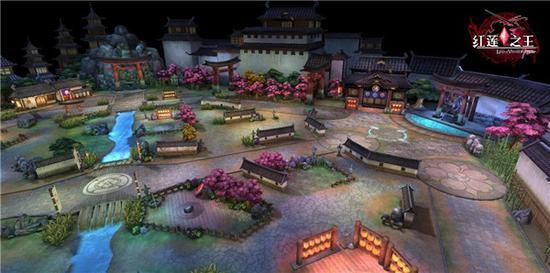 游戏经典场景地图