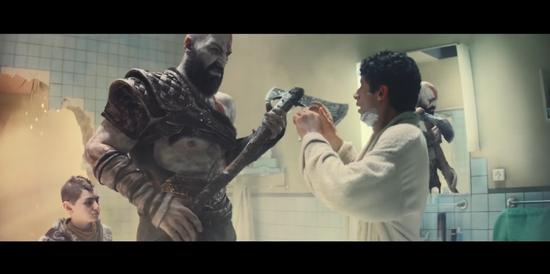 奎爷带你打破次元壁!索尼PS4发布全新创意广告