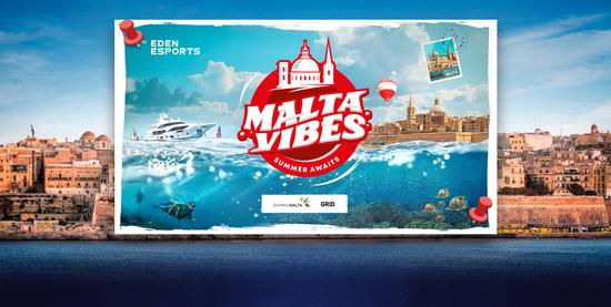 《【煜星公司】清凉夏季体验的CS:GO大赛,火猫直播Eden Arena: Malta Vibes》