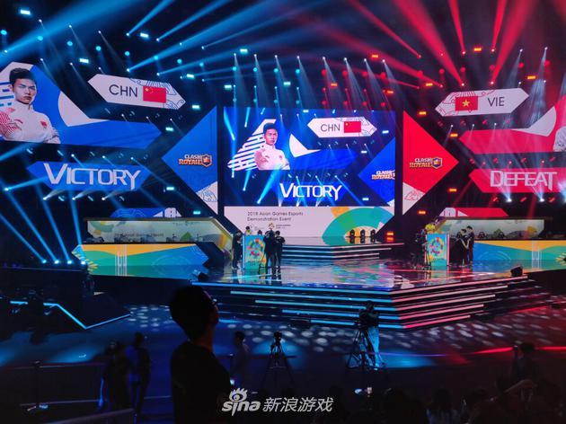 皇室战争表演赛中国对阵越南获胜,晋级决赛