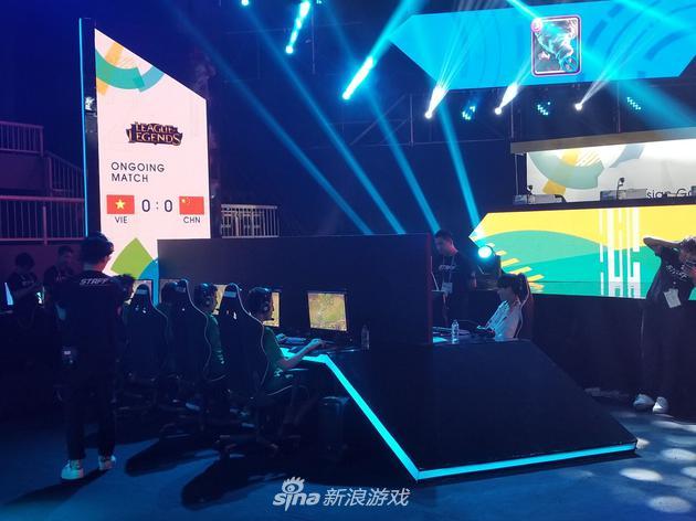 亚运会英雄联盟表演赛中国对阵越南