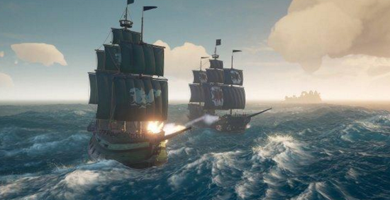 """《盗贼之海》 免费更新内容""""饥渴深处""""下周登场"""