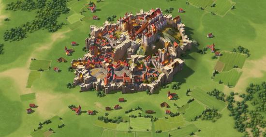 △巨龙入侵公国王城