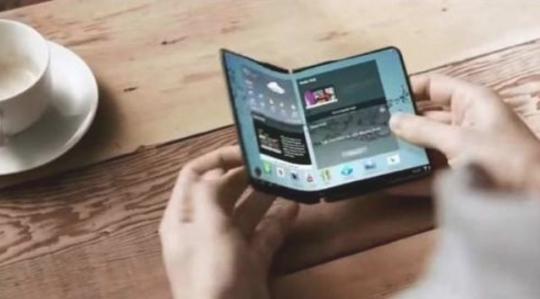 三星新款折叠屏手机再曝光 量产指日可待