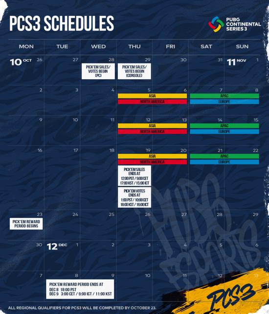 《【煜星平台网】PCS3洲际赛开赛在即,强队集结打响年度收官战》