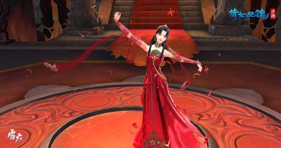 阿初公主翩翩起舞
