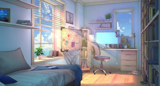 《永远的7日之都》新场景——希罗的房间