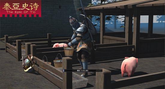 饲养小猪,收获肉类