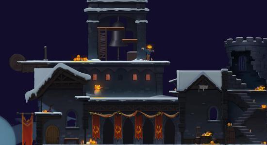 雪夜古堡惊喜变身