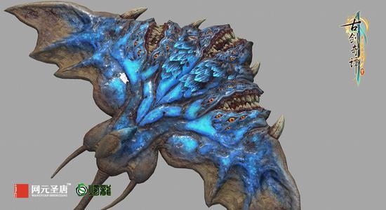 怪物三维模型截图之一