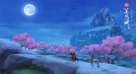 还有延绵的望月之路
